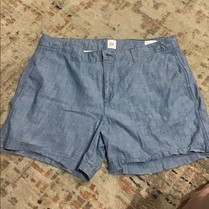 Gap jean shorts. SZ 10 nwot